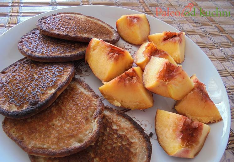 Bezglutenowe placki z owocami