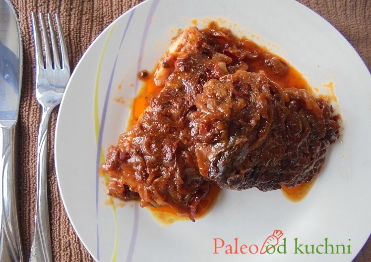 Żeberka w miodowo-pikantnym sosie