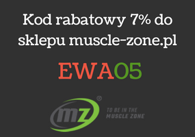 Rabat 7% od muscle-zone.pl