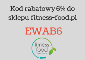 Rabat 6% od fitness-food.pl