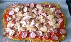 Pizza na spodzie kalafiorowym