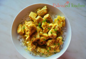 Indyk curry w mleku kokosowym