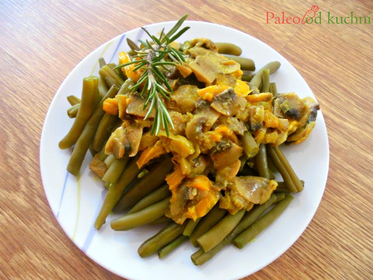 Fasolka szparagowa z sosem